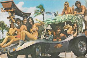 Postcard from The Castaways in Miami Beach