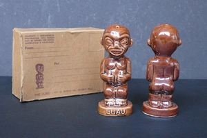 Salt and pepper shakers from The Luau in Beverly Hills