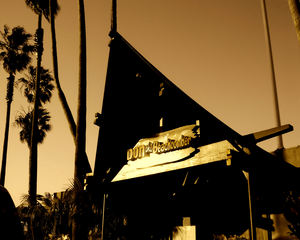 Sunset on the first day of operations at Don the Beachcomber in Huntington Beach