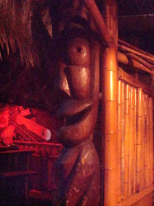 Tiki at Don the Beachcomber in Huntington Beach
