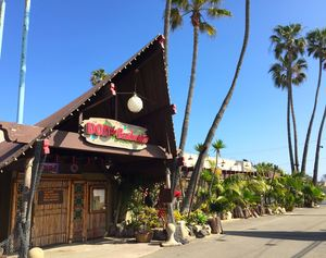 Exterior of Don The Beachcomber's at Don the Beachcomber in Huntington Beach