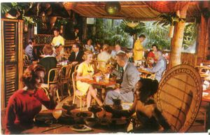 Postcard from Don the Beachcomber in Hollywood