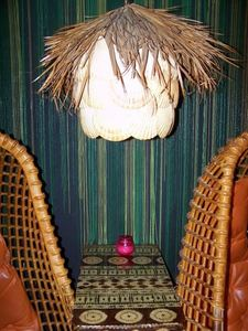 Shell lamp at Mai Kai Lounge in Tecumseh