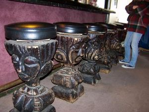 Witco stools at Mai Kai Lounge in Tecumseh