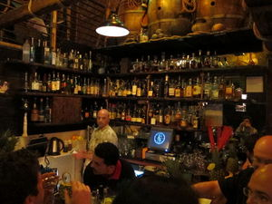 The main bar at Smuggler's Cove in San Francisco