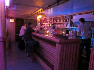 The bar at Painkiller in New York
