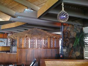Decor in the restaurant at Don the Beachcomber in Kailua-Kona