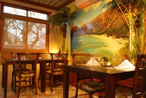 Dining room at Lanai Hawaiian Food in Porto Alegre