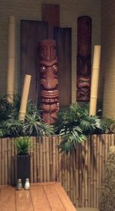 A booth at Tahiti Joe's in Las Vegas