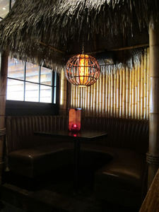 A booth at Tiki No in North Hollywood
