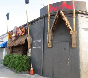 Entrance to Tiki No in North Hollywood