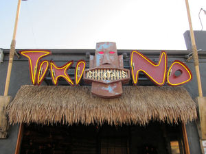 Sign for Tiki No in North Hollywood