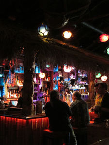 The bar at Tiki No in North Hollywood