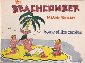 Photo folder from Monte Proser's Beachcomber in Miami Beach