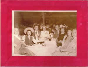 Vintage photo from Monte Proser's Beachcomber in Miami Beach
