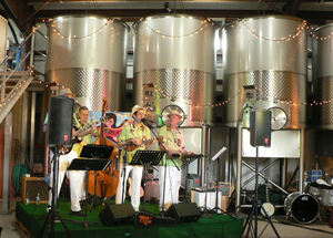 The Maikai Gents perform at Judd's Hill in Napa