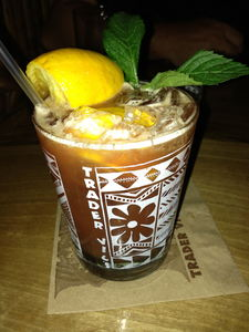 Nelson's Blood at Trader Vic's in Portland