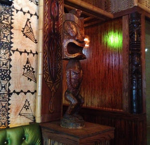 Tiki at Trader Vic's in Portland
