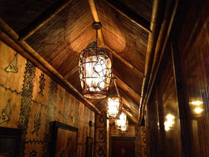 Hallway at Trader Vic's in Portland