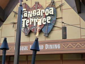 Exterior of Tangaroa Terrace in Anaheim