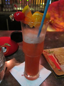 Shrunken Zombie Head at Trader Sam's Enchanted Tiki Bar in Anaheim