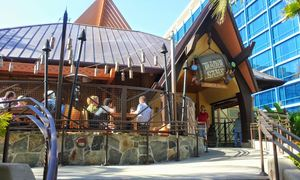 Exterior of Trader Sam's Enchanted Tiki Bar in Anaheim