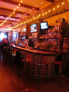 Interior at Tiki Haven in San Francisco