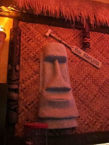 Moai at Tiki Haven in San Francisco