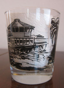Souvenir Mai Tai glass from Tony's on the Pier in Redondo Beach