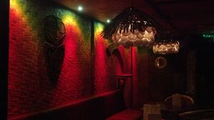 Dining room decor at Kanaloa in London