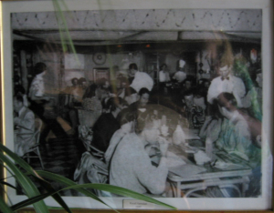1949 photograph of the old Royal Hawaiian Restaurant
