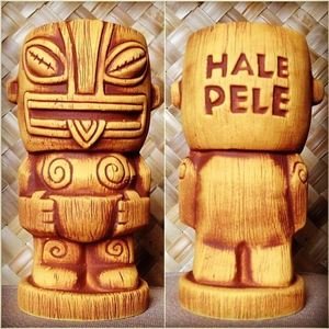 Limited Edition tiki mug by Munktiki from Hale Pele in Portland