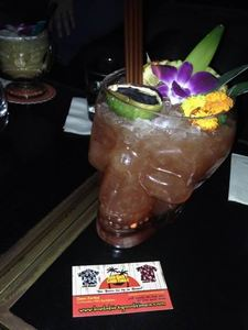 Zombie Punch at Three Dots and a Dash in Chicago