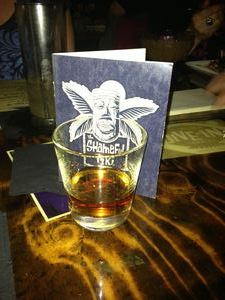 Rum passport at The Shameful Tiki Room in Vancouver