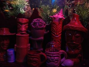 Mugs at Kanaloa Lounge in Calgary