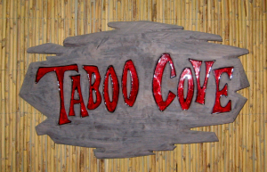 Sign for Taboo Cove in Las Vegas