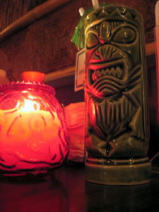 Tiki mug at Chin's Chop Suey in Livonia