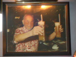 Photograph of Ray Buhen at Tiki-Ti in Los Angeles