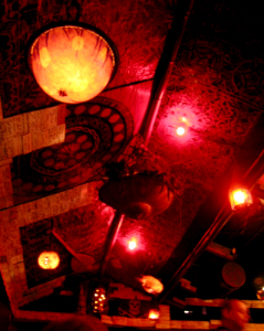 Ceiling at Tiki-Ti