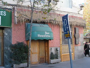 Exterior of Mauna Loa Bar Hawaiano in Madrid