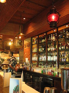 Front bar at Trader Vic's in Manama